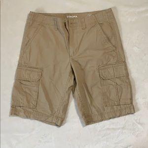 Mens Sonoma Cargo shorts